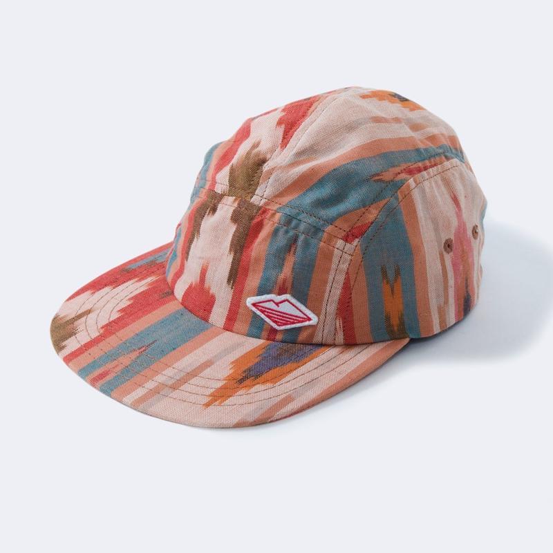 Battenwear Travel Cap, Earth Ikat