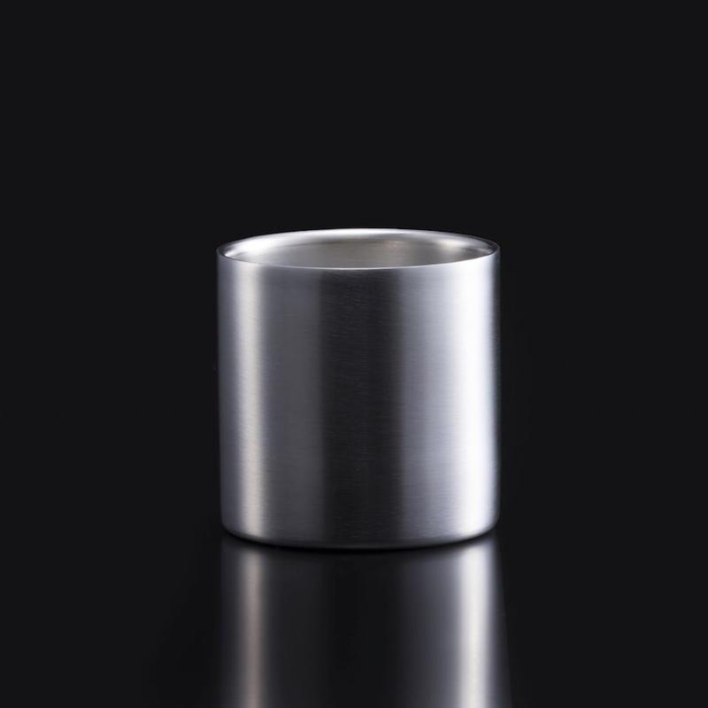 78mm ダブルステンレスタンブラーグラス ノーマル1個入