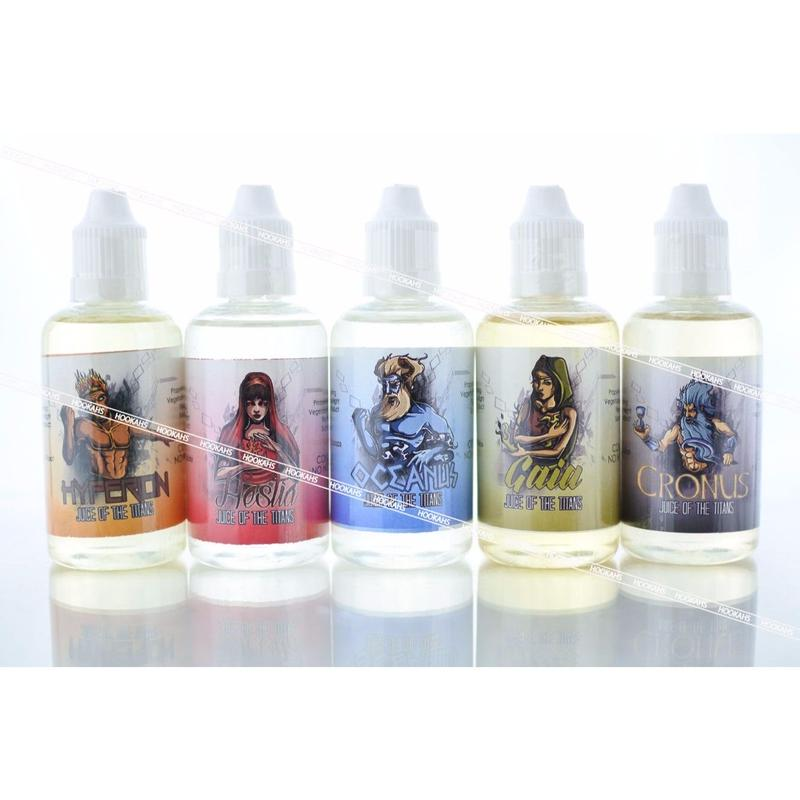 【スイーツ】【コーヒー】JUICE OF THE TITANS 50ml by Ambrosia Eliquids 全5種