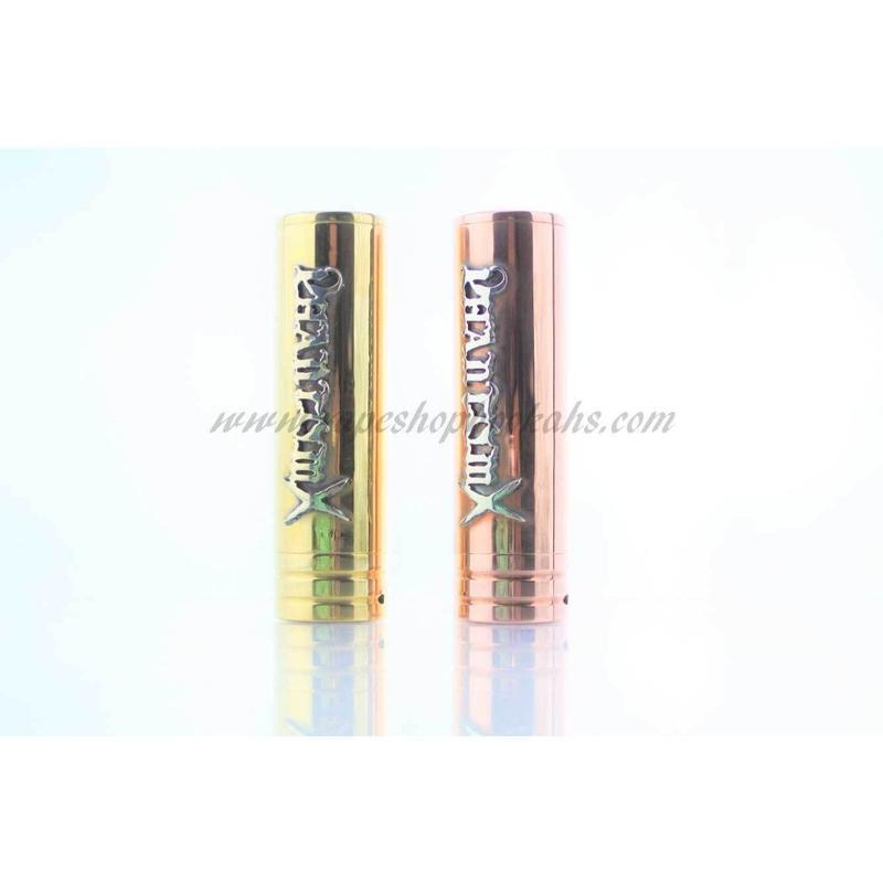 Phantom x  brass  tube mod 24mm (silver925 logo)メカニカルmod
