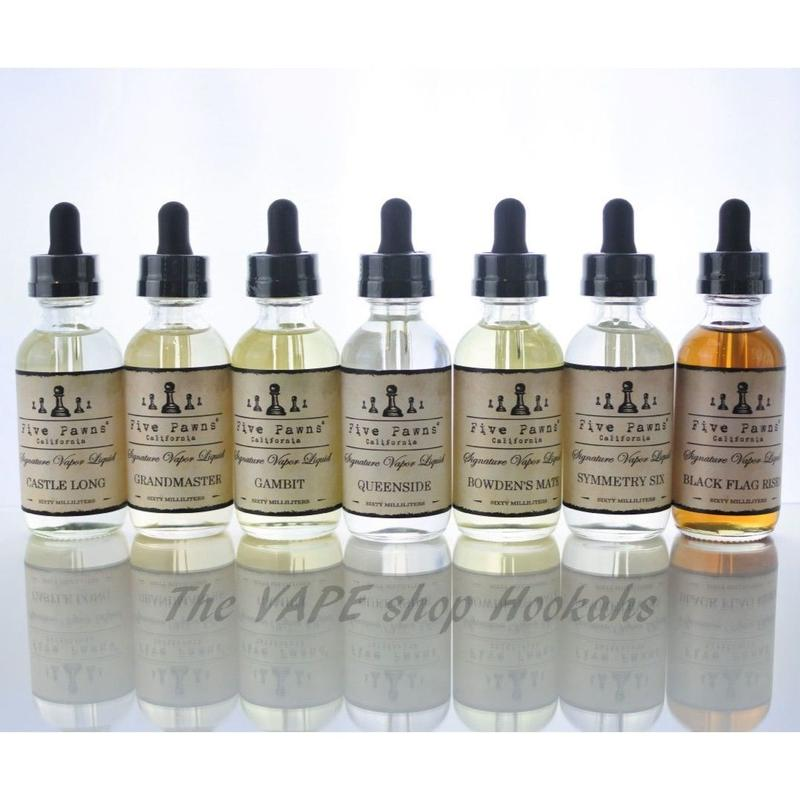 FIVE PAWNS ORIGINAL SERIES 60ml 全7種類