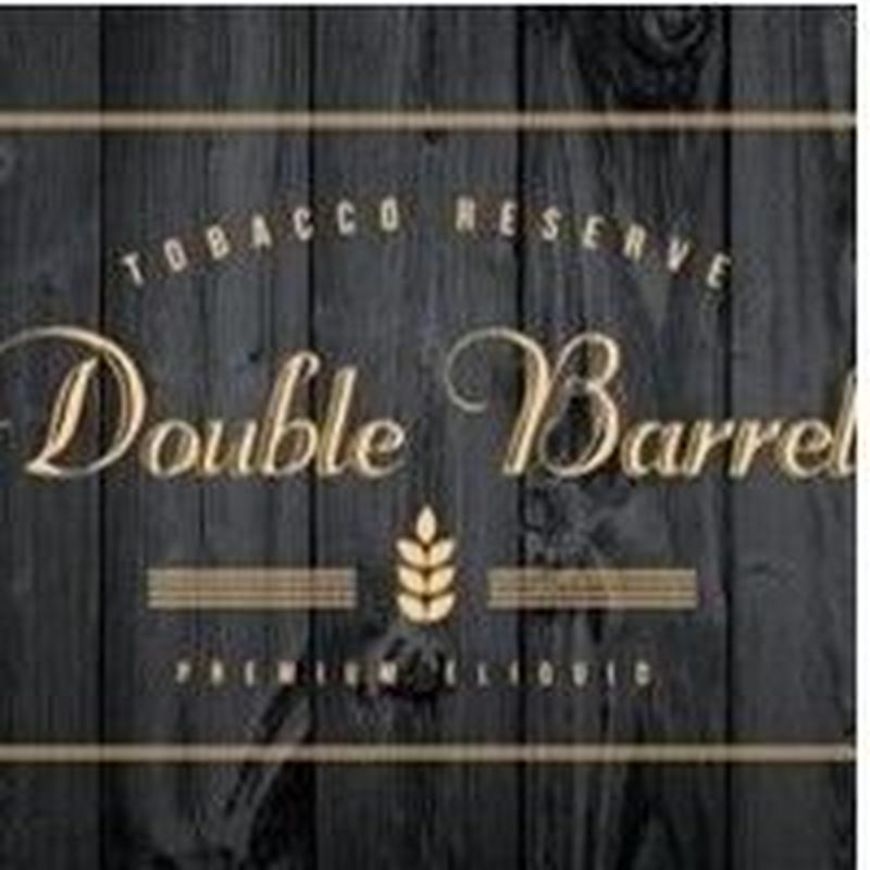 【スイーツ】【タバコ】Double Barrel Tobacco Reserve 60ml 全3種類