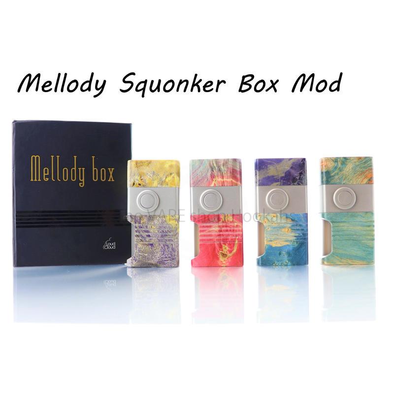 【BF MOD】Mellody Squonker Stabilized wood Box Mod 18650 size