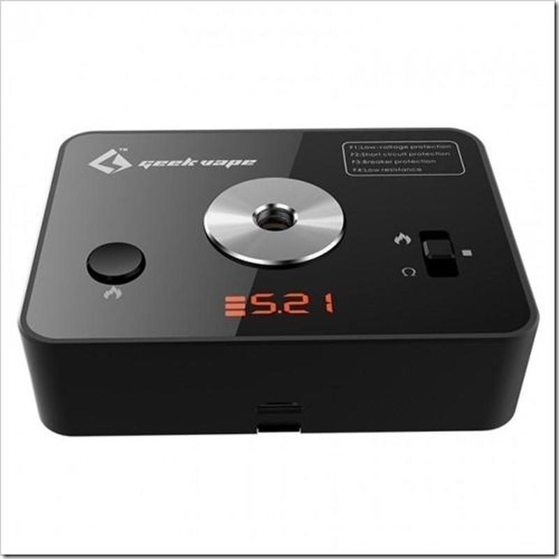 Geekvape 521 Tab mini Ωテスター
