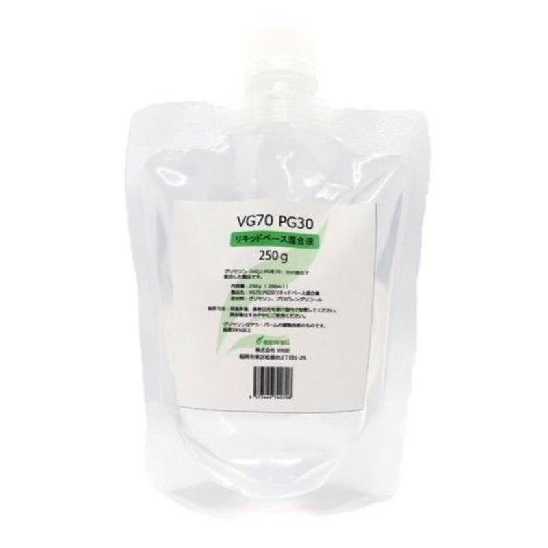 eswell VG70 PG30 リキッドベース混合液 250g (200ml) 詰め替え用10mlボトル1本付き