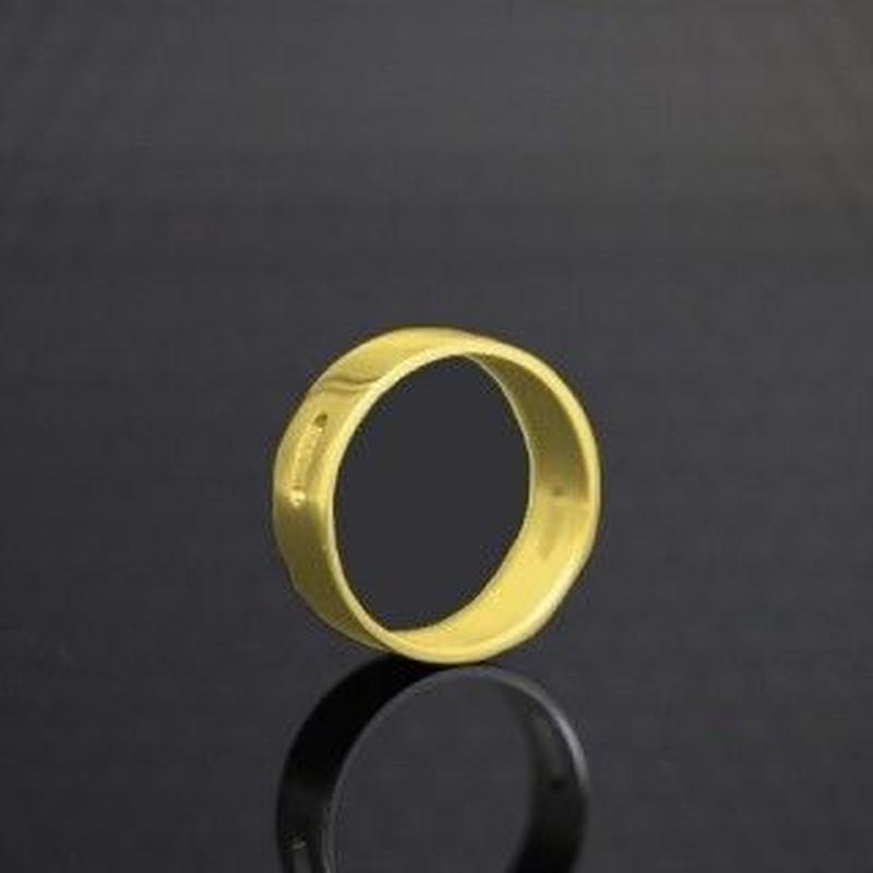 The Golden Greek  Tilemahos  AD Ring  Brass