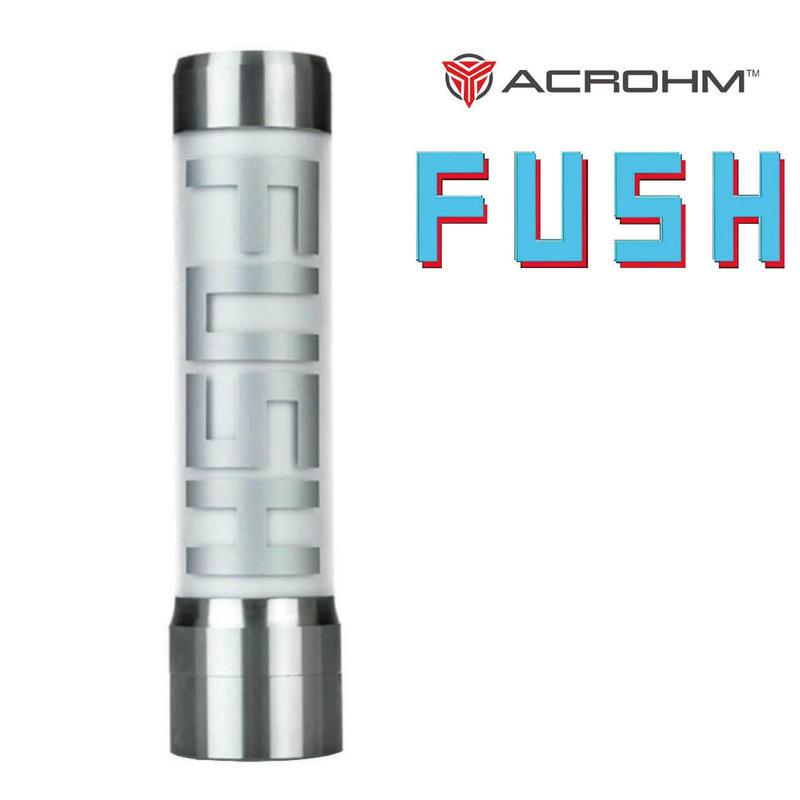 【セミメカニカルチューブMOD】ACROHM FUSH MOD 18650バッテリー用 半メカタイプLED発光チューブMOD