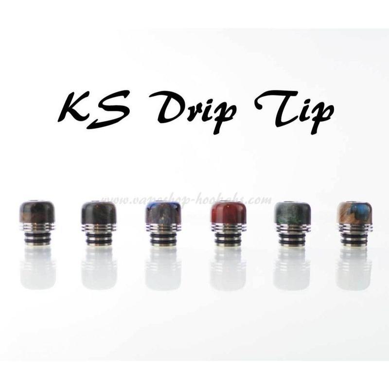 KS drip tip  ショートタイプ ドリップチップ  510径