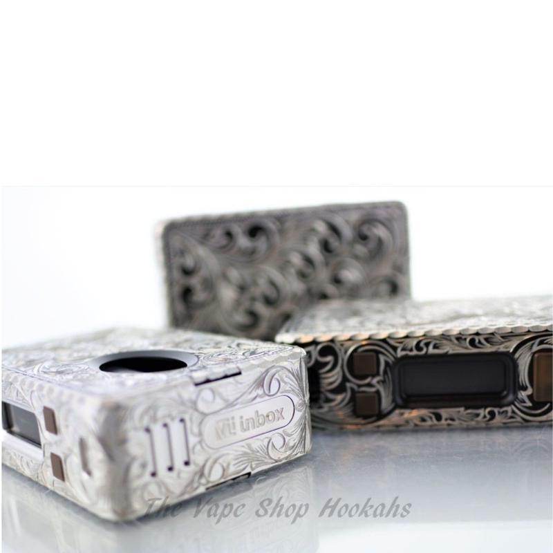 【限定モデル】HCIGAR VT inbox Silver Engraving DNA75 BF BOX MOD
