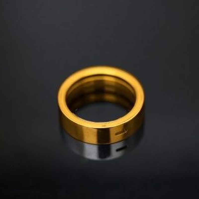 The Golden Greek Esterigon Ad Ring Brass Shined