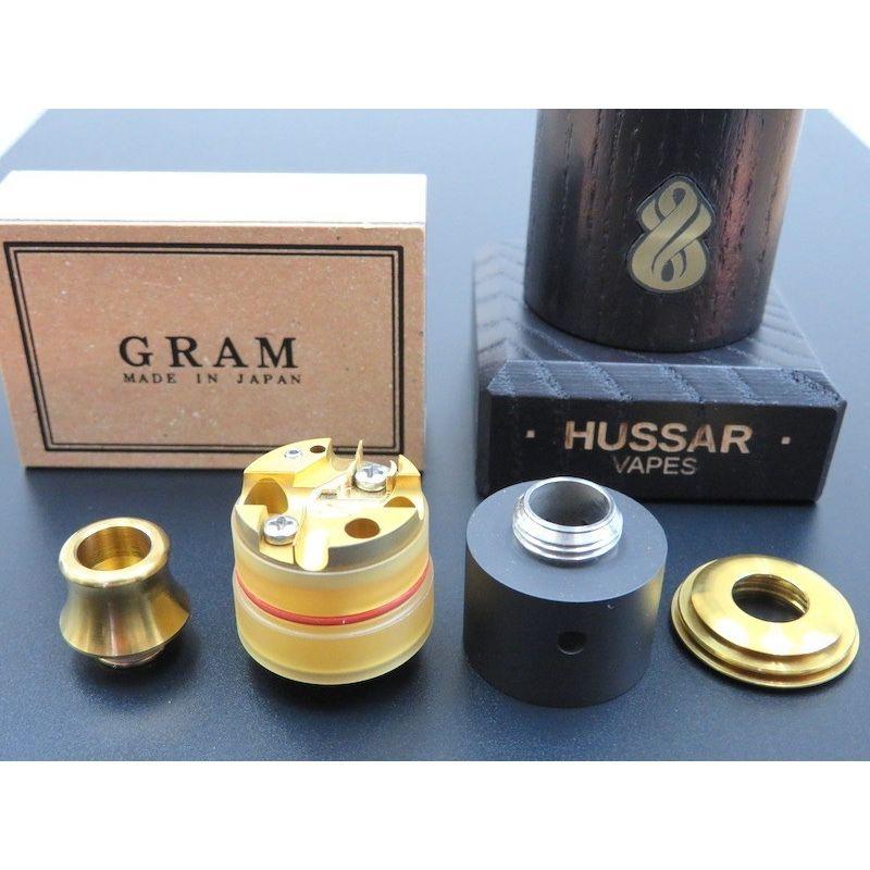 Hussar RDTA B&G Edition  +  GRAM SS Mt.fuji IP Gold