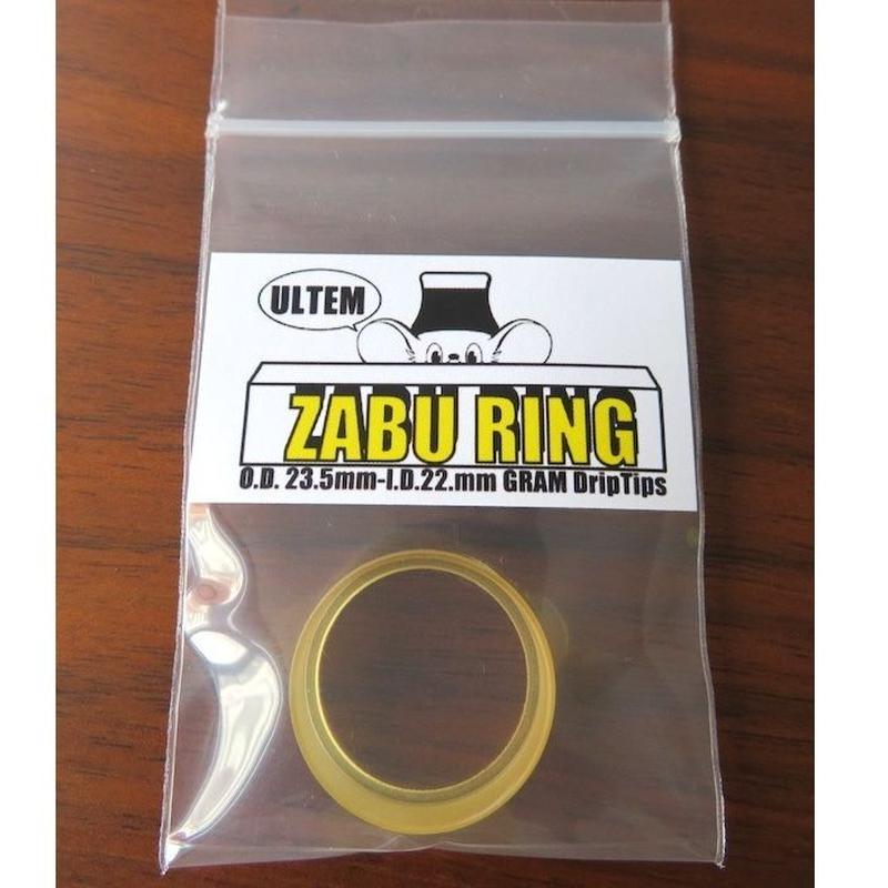ZABU Ultem RING  / GRAM Drip Tips🐭