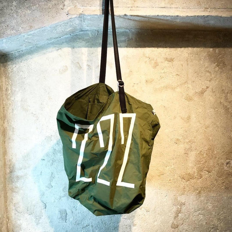 NUMBER BAG / green