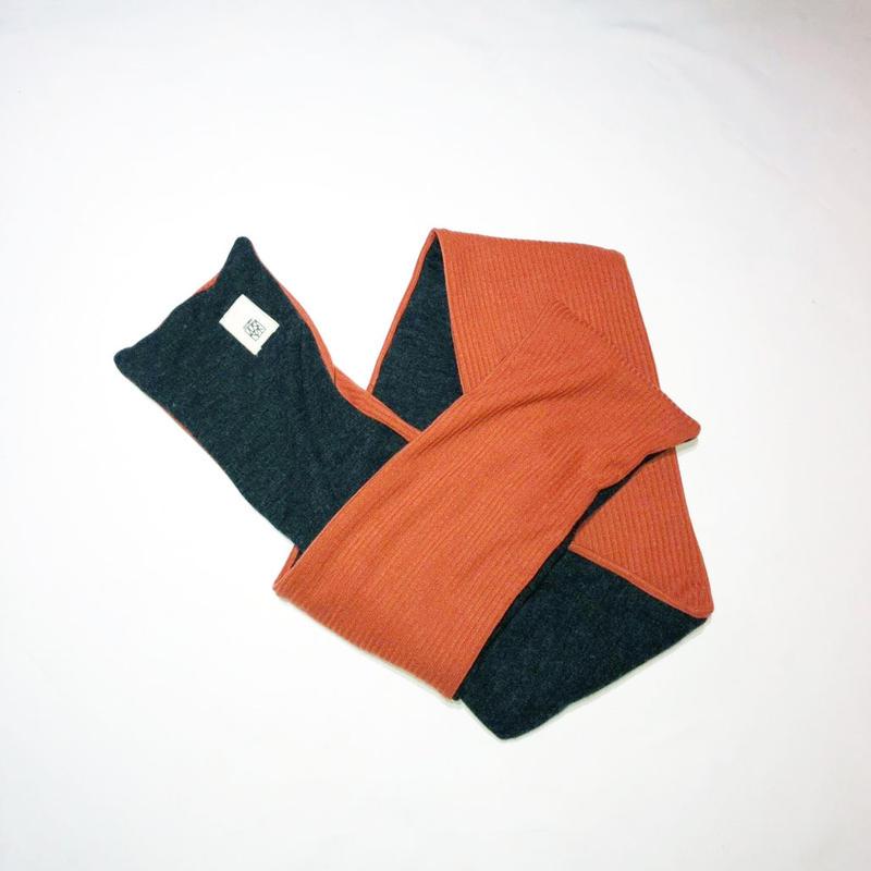 PADDING MUFFLER / orange