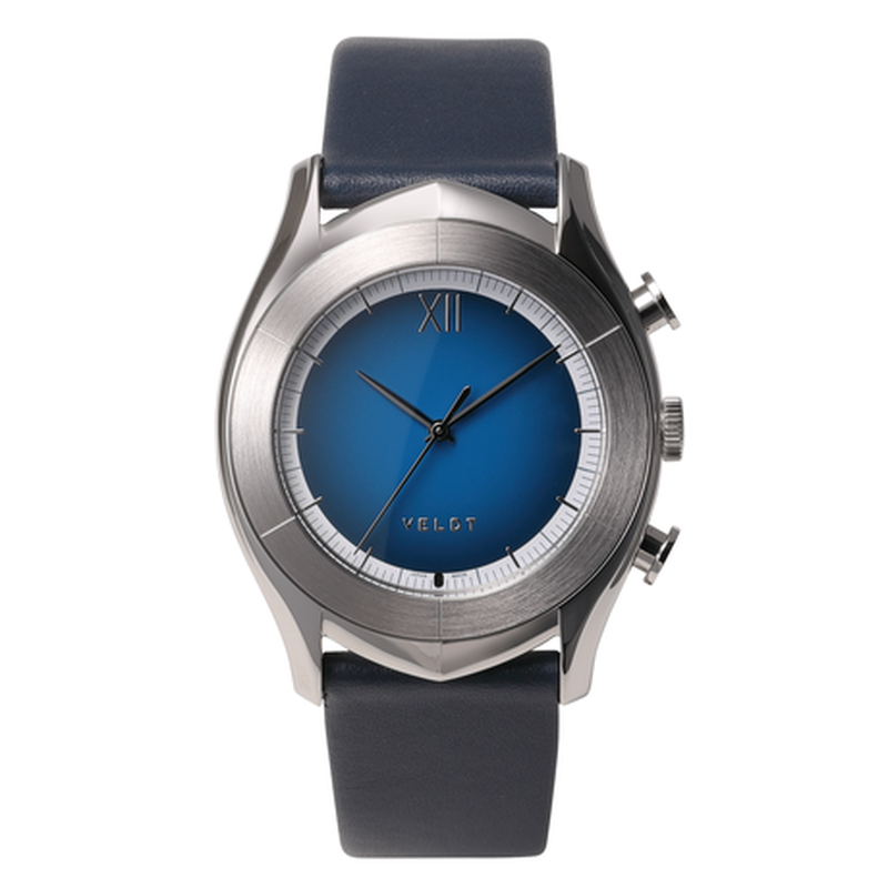 [LUXTURE] ALTAIR Series  Blue S - Navy Calf Laether Strap