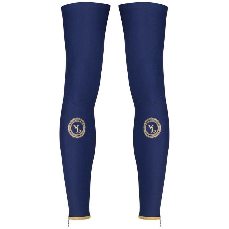 VB Thermal Leg Warmers Navy/Gold  / VB サーマル レッグウォーマー 紺/ゴールド (秋冬用裏起毛) 男女兼用 VB-130N