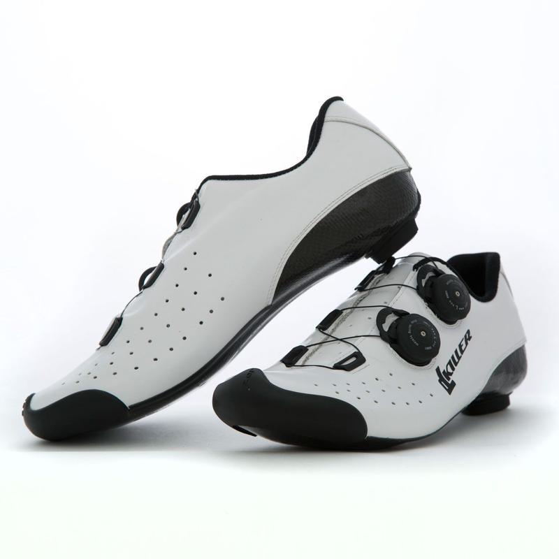 Di Luca Killer KS1 Road Shoes White / ディルーカ キラーコレクション KS1 ロードシューズ  ホワイト(K-KCSO6BWHI)