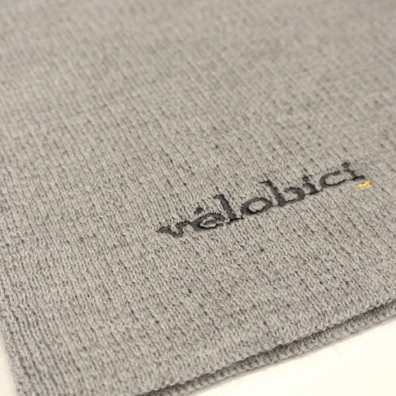 Velobici Merino Wool Warm Collar Grey / ヴェロビチ メリノウール ネックウォーマーグレー(VB-111)