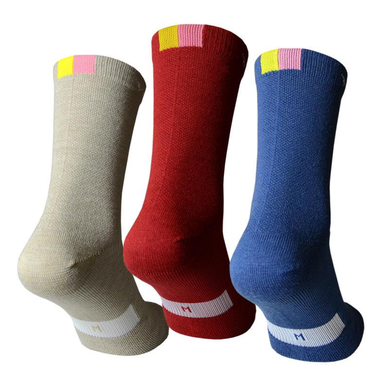 Merino Long Socks / メリノウール ロングソックス(VB-228,229,230)