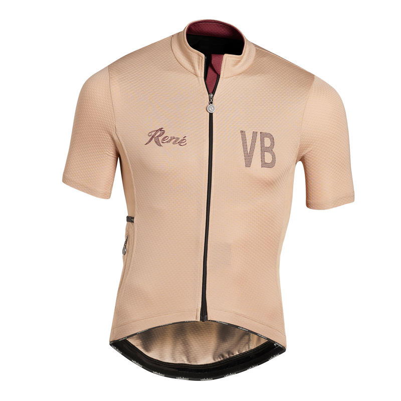 Rene Short Sleeve Jersey Sand Mens&Womens / レネ  半袖ジャージ  サンドベージュ メンズ&レディース(VB-235,242)