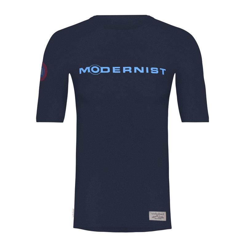 Modernist Navy T-Shirts /  モダニスト ネイビー Tシャツ(VB-MOD-T-NY)男女兼用