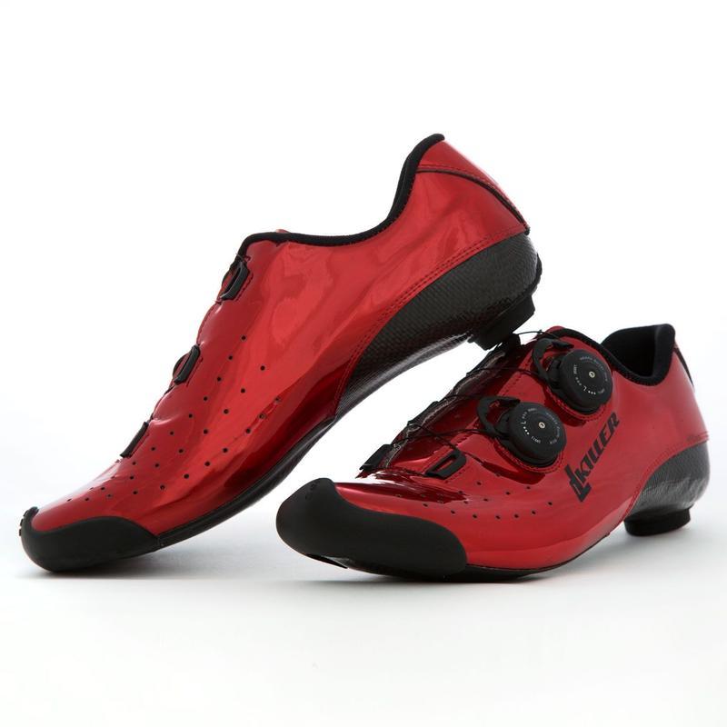 Di Luca Killer KS1 Road Shoes Red / ディルーカ キラーコレクション KS1 ロードシューズ  レッド(K-KCSO3BRED)