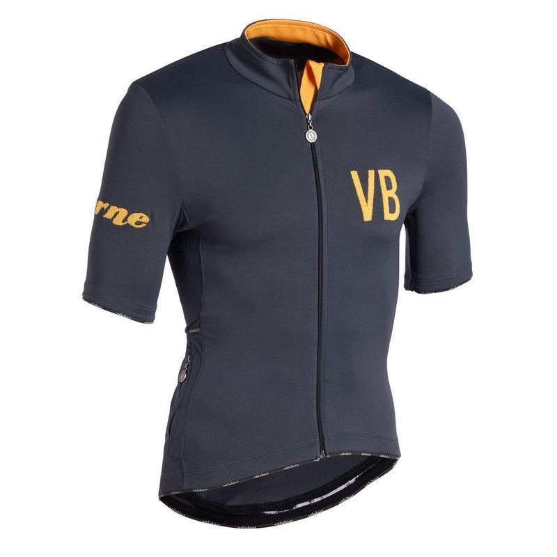 Verne Short Sleeve Jersey Grey Mens&Womens /  ヴァーン 半袖ジャージ  Grey メンズ&レディース(VB-194,196)