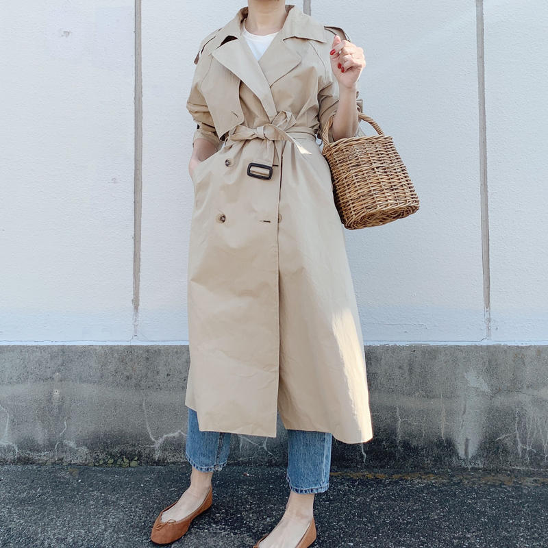 basic trench coat[baige]
