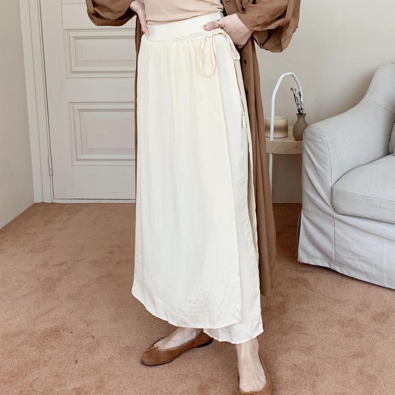 wrap skirt like pants