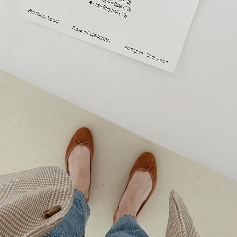 ballet shoes[camel]