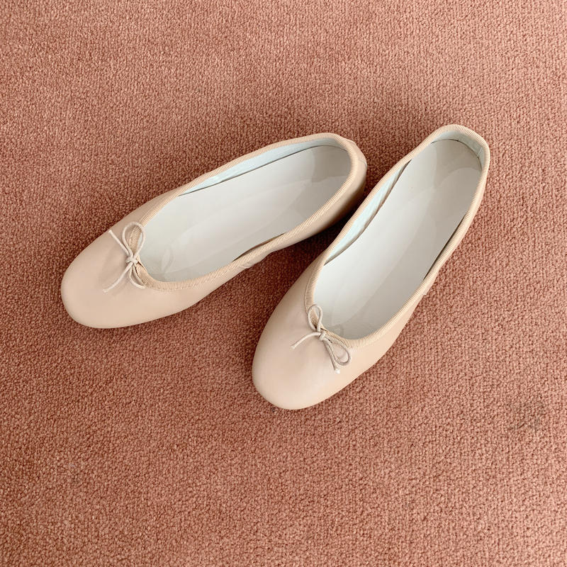 ballet shoes[beige]