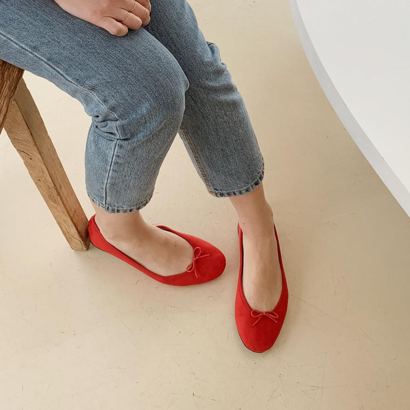 ballet shoes[red]