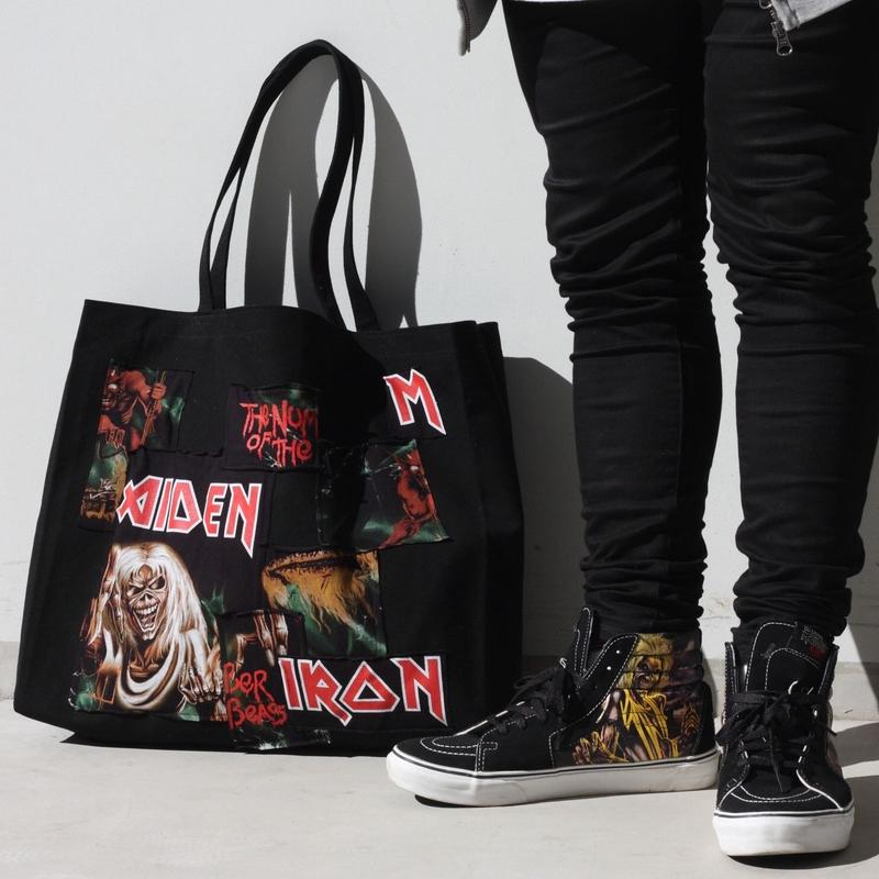 IRONMAIDEN CUSTOME TOTE BAG