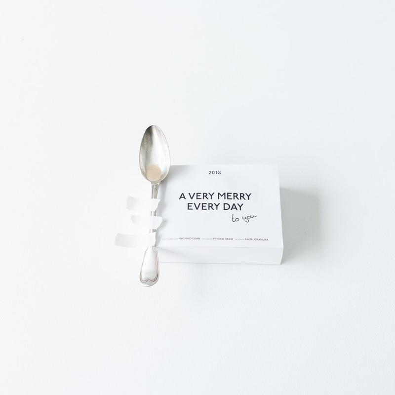 【トートセット】日めくりカレンダーBOOK「A VERY MERRY EVERY DAY to you」2018年版