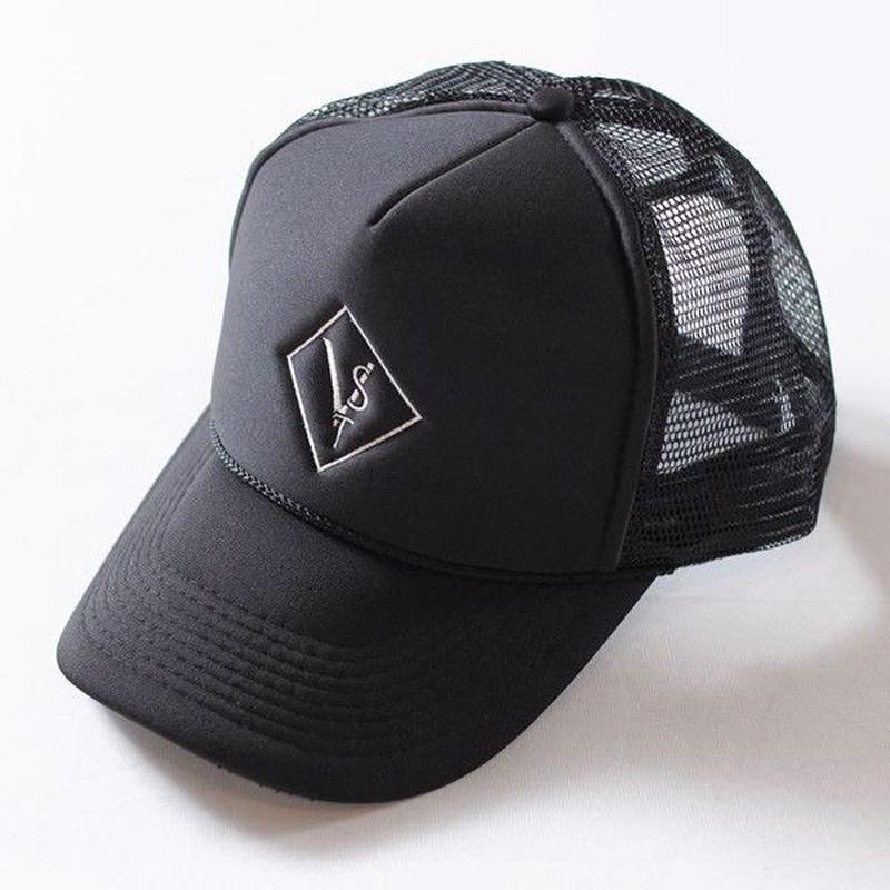 Vestia Logo Mesh Black Cap(刺繍)
