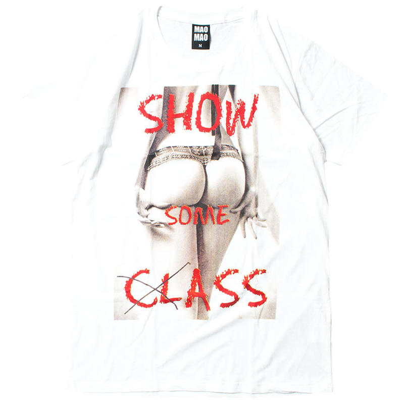SHOW CLASS プリントTシャツ