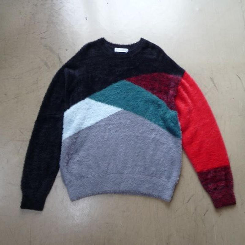 "diet butcher slim skin ""bi color shaggy knit"""