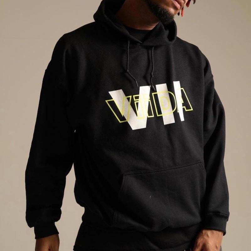 VII  ロゴ foodie (black)
