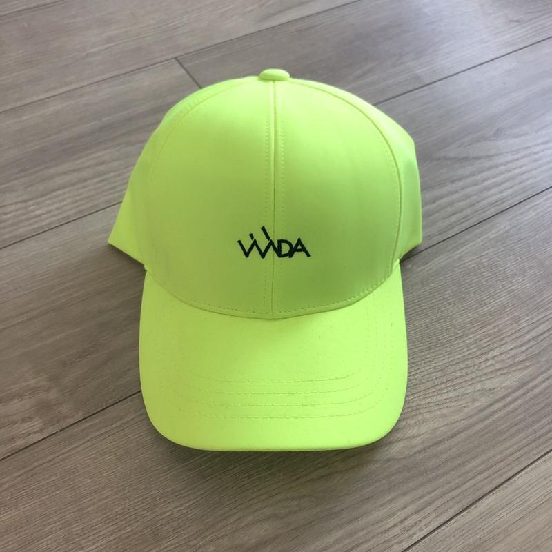 ネオンロゴCAP(yellow)