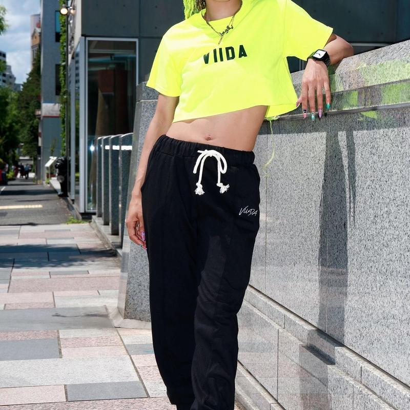 ViiDA  crush pants(black)