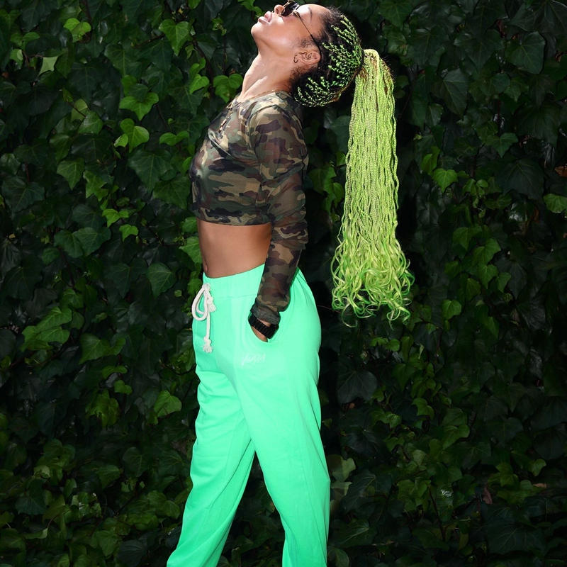 ViiDA crush pants(green)