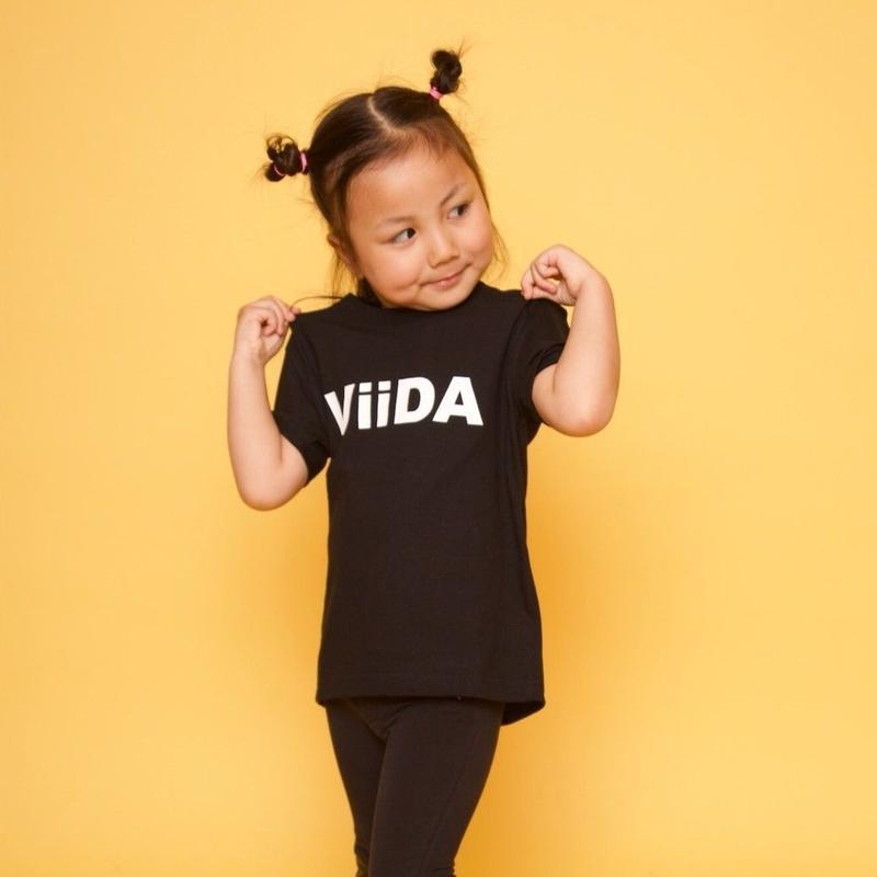 ViiDAkids T-shirt (black)