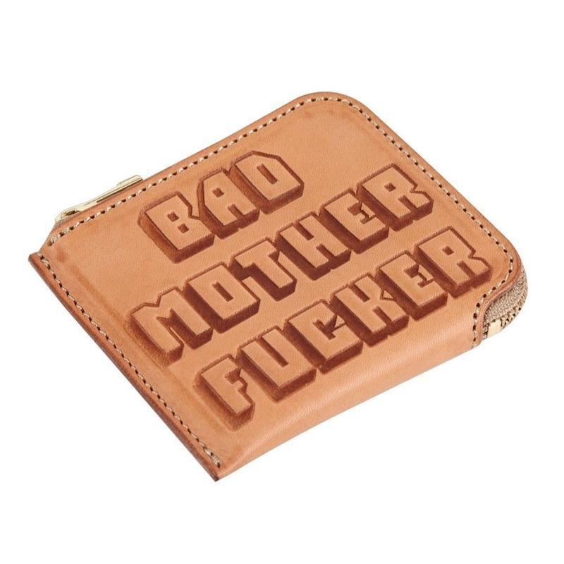 ミニBAD MOTHER FUCKER財布(ナチュラル)