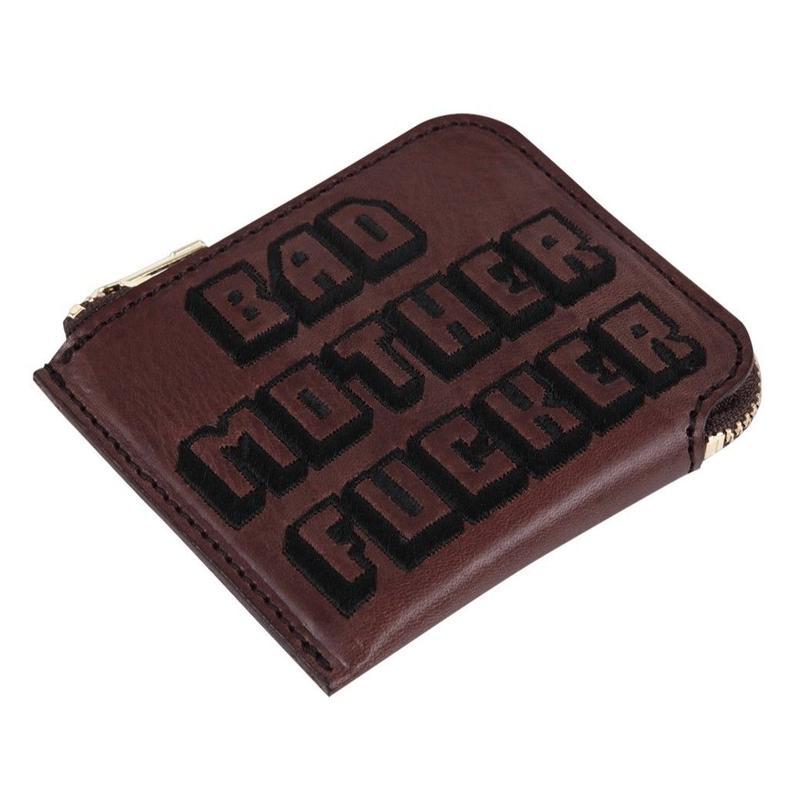 ミニBAD MOTHER FUCKER財布(刺繍)