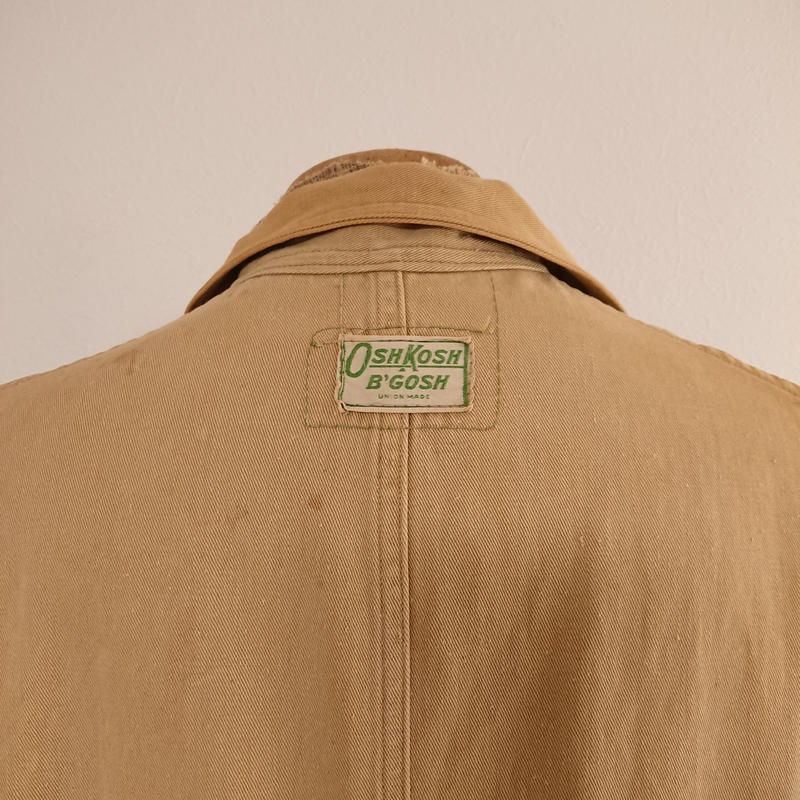 【1940s~1950s  OSHKODH  B'GOSH】Work coat.