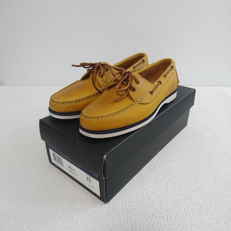 「POLO   RALPH  LAUREN」    Deck shoes 【yellow】
