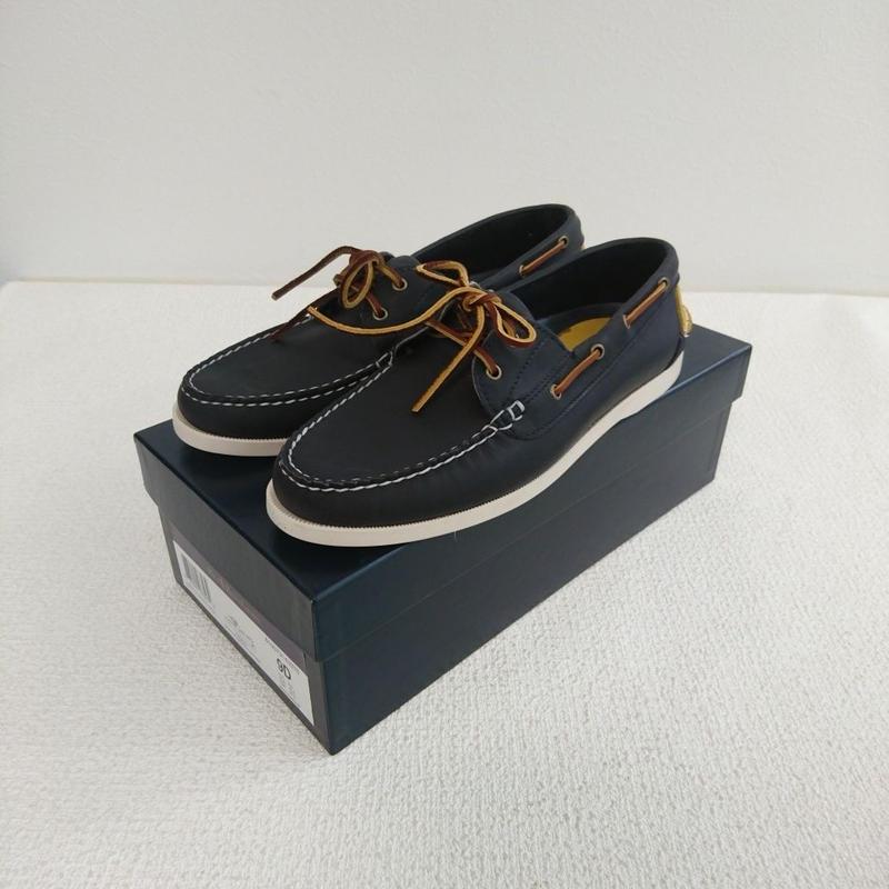「POLO   RALPH  LAUREN」    Deck shoes 【blue】