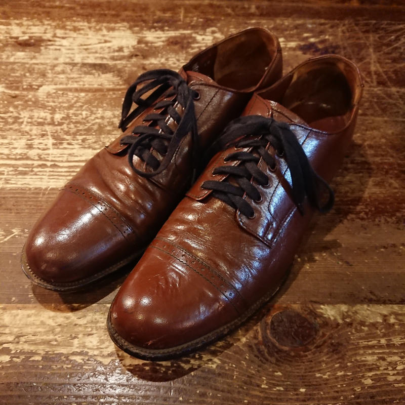 【 1980s STACY ADAMS   MADISON 】Leather shoes.