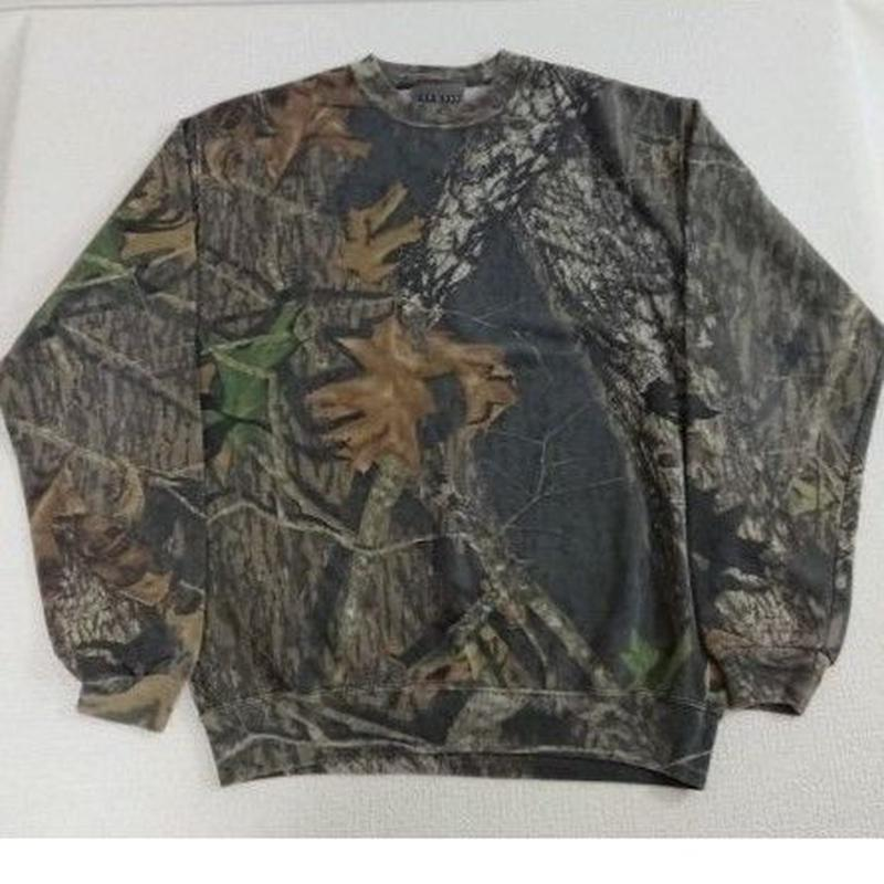 【 JERZEES  Outdoors 】 Real tree camouflage   Sweatshirt