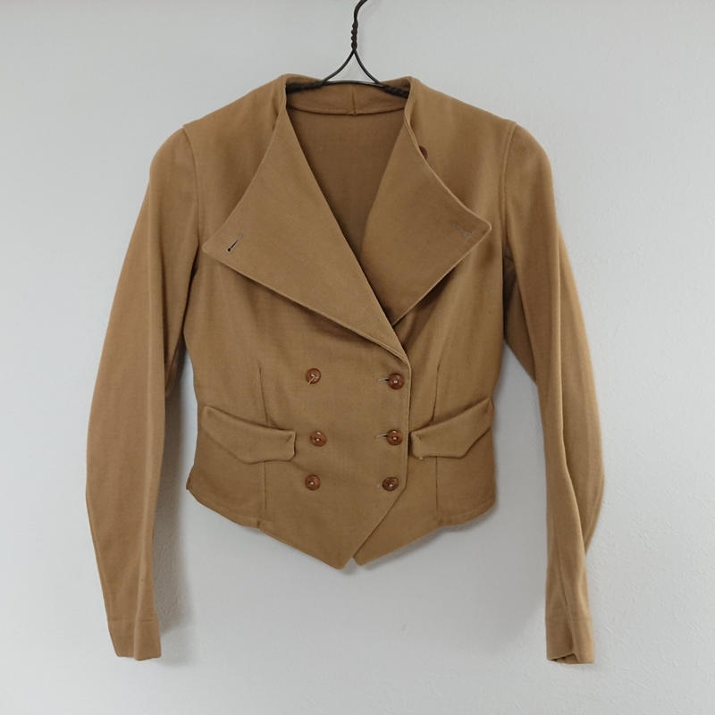 ~1950s  Double breasted  cotton jacket.